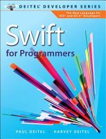 Swift for Programmers PDF