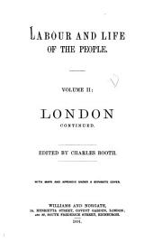 Labour and Life of the People: Volume 2
