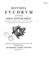 Historia fucorum, auctore Samuel Gottlieb Gmelin,...