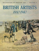 The Dictionary of British Artists  1880 1940 PDF