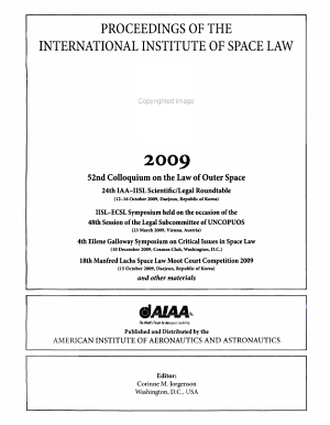 Proceedings of the Fifty-Second Colloquium on the Law of Outer Space