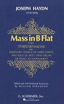 Mass in B Flat