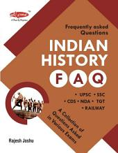 indian history FAQ: for SSC, Bank PO, Railway, UPSC exams and CDS