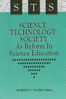 Science Technology Society as Reform in Science Education PDF