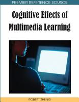 Cognitive Effects of Multimedia Learning PDF
