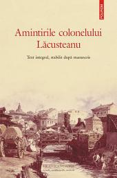 Amintirile colonelului Lăcusteanu