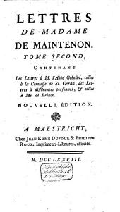 Mémoires pour servir a l'histoire de madame de Maintenon, et à celle du siecle passé: Volume8