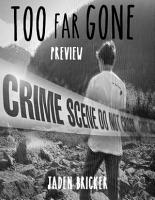 Too Far Gone Preview PDF