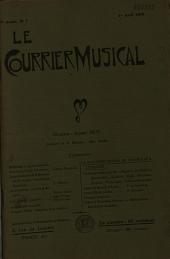 Le Courrier musical