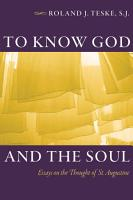 To Know God and the Soul PDF
