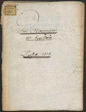 Quattuor diui Hieronymi epistole ad vita[m] mortaliu[m] instituenda[m] ...