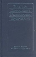 Political Demography  Demographic Engineering PDF