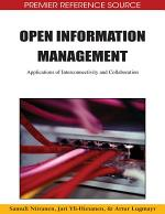 Open Information Management: Applications of Interconnectivity and Collaboration