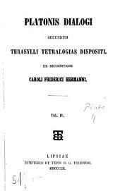 Dialogi: secundum Thrasylli tetralogias dispositi, Τόμος 4