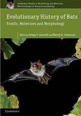 Evolutionary History of Bats PDF
