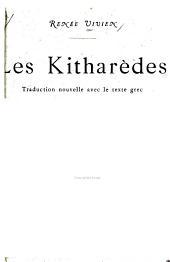 Les Kitharèdes: traduction nouvelle avec le texte grec