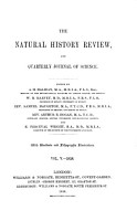 The natural history review PDF