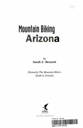 Mountain Biking Arizona PDF