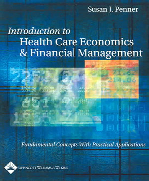 Introduction to Health Care Economics   Financial Management PDF