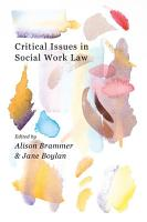 Critical Issues in Social Work Law PDF