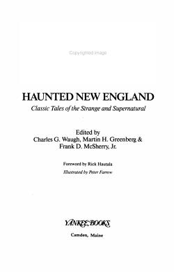 Haunted New England PDF