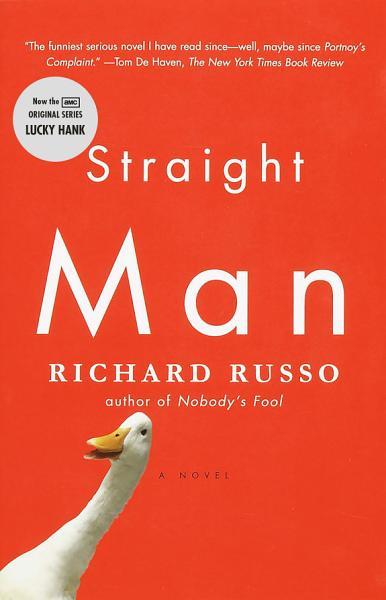 Download Straight Man Book