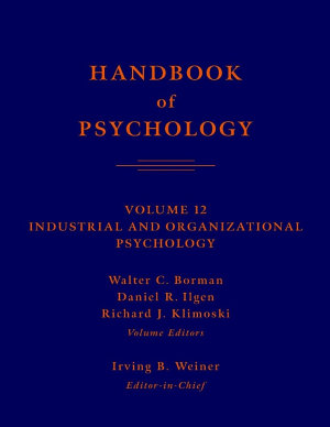 Handbook of Psychology  Industrial and Organizational Psychology PDF