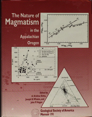 The Nature of Magmatism in the Appalachian Orogen PDF