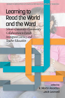 Learning to Read the World and the Word