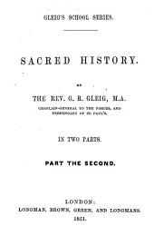 Sacred history: Volume 2