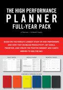 High Performance Planner Full-year Pack