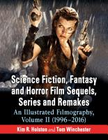 Science Fiction  Fantasy and Horror Film Sequels  Series and Remakes PDF
