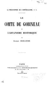 La philosophie de l'impérialisme: Le comte de Gobineau et l'arayanisme historique
