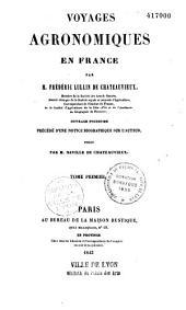 Voyages agronomiques en France