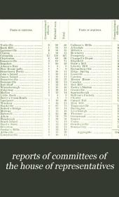 reports of committees of the house of representatives