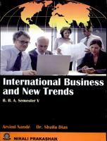 International Business and New Trends PDF