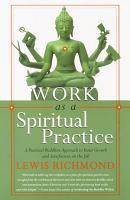 Work as a Spiritual Practice PDF
