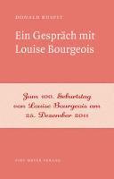 Ein Gespr  ch mit Louise Bourgeois PDF