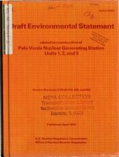 Palo Verde Nuclear Generating Station Units 1-3, Construction: Environmental Impact Statement