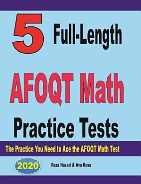 5 Full Length AFOQT Math Practice Tests PDF
