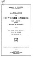 Catalog of Copyright Entries  Fourth Series PDF