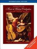 Anthology for Music in Western Civilization  Volume II