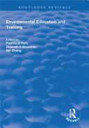Environmental Education and Training