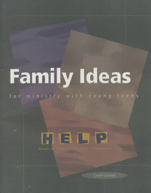 Family Ideas for Ministry with Young Teens PDF