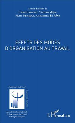 Effets des modes d organisation au travail PDF