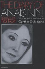 The Diary of Anaïs Nin, 1931–1934