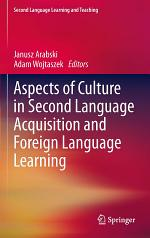 Aspects of Culture in Second Language Acquisition and Foreign Language Learning