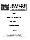 Predicasts F   S Index United States PDF
