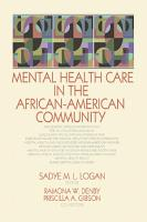Mental Health Care in the African American Community PDF