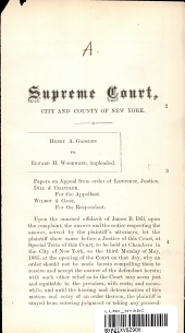 Supreme Court, City and County of New York